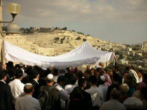 Jewish Wedding in Jerusalem.