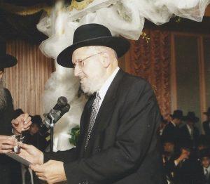 Rabbi Yosef Tendler, of blessed memory.