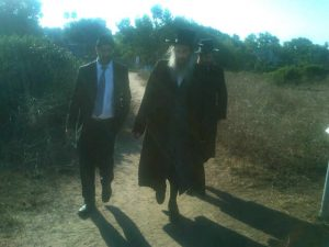 """Rabbi Yoni with the Kalever Rebbe shlit""""a"""